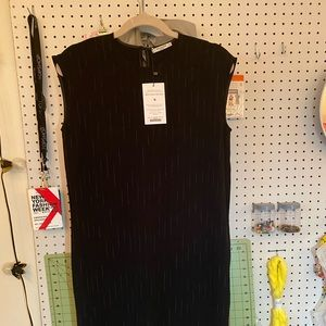 Doris Dress Faded Stripe